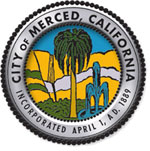 Seal of the City of Merced, California