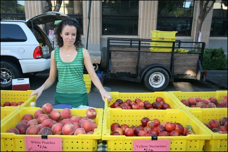 Merced area farmers sold their produce