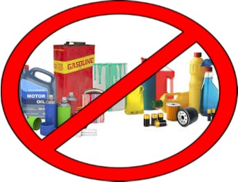 No Household Hazardous Waste