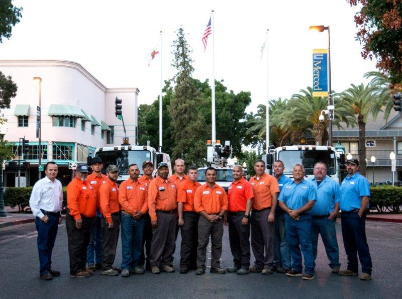 Members of the Streets & Streetlight division