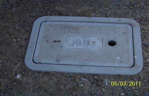 Water box lid