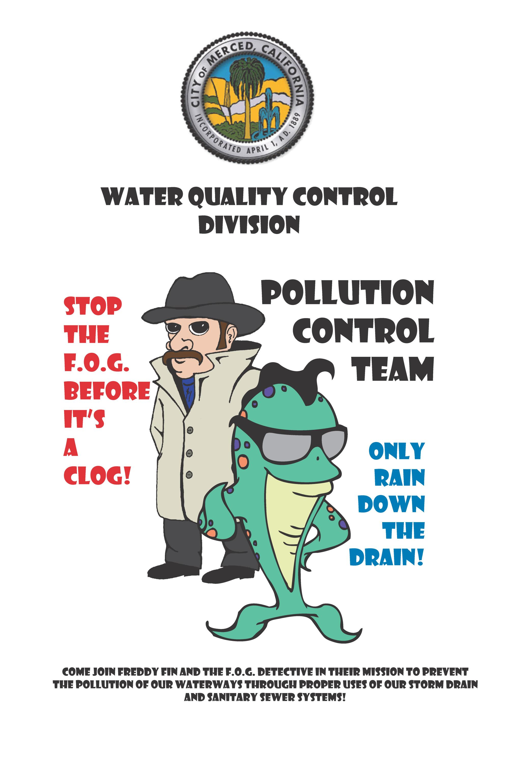 Pollution Control Team: Freddy Fin and the F.O.G. Detective
