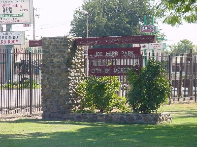 Joe Herb Park sign