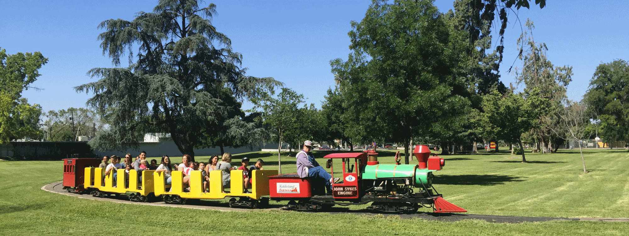 kiddieland train