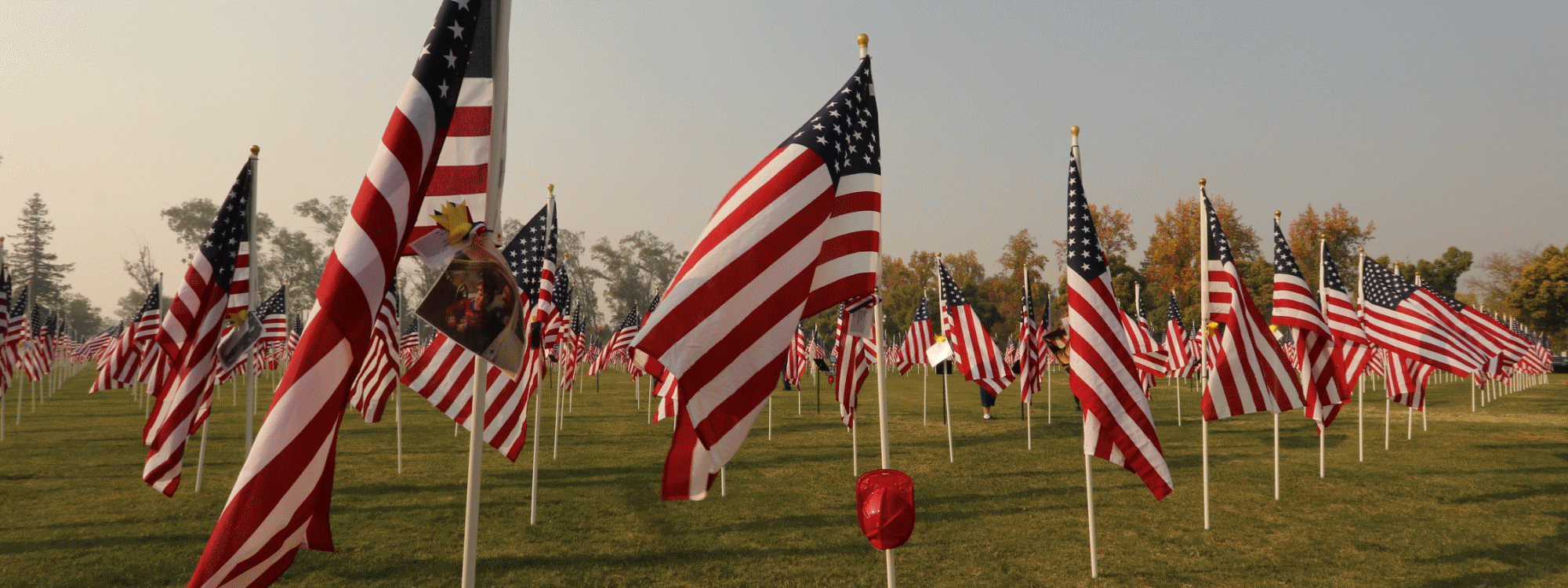 The Field of Honor is at Merced College